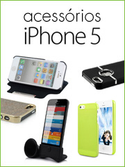 Acess�rios para iPhone 5