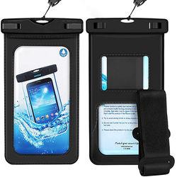 Bolsa Protetora a prova D'Água com Braçadeira para Smartphone - Diversas Cores