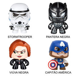 Boneco Mighty Muggs - Personagens