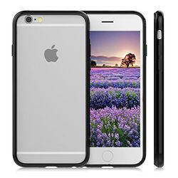 Bumper para iPhone 6 Plus de TPU - Preto
