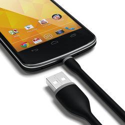 Cabo de dados Flexível Micro USB 15cm - KinGo