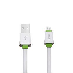 Cabo de dados USB para Entrada Micro USB - Kaidi