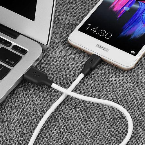Cabo de Dados USB para Micro USB de Silicone X21 - Hoco