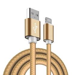 Cabo para iPhone e iPad Lightning de corda 2.8A - Hrebos