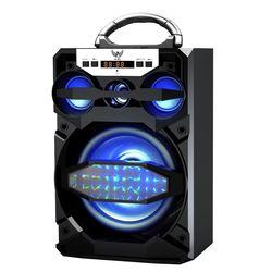 Caixa de Som Bluetooth A-81- LTOMEX | Preta
