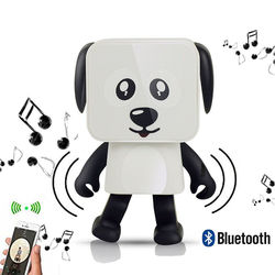 Caixa de Som Bluetooth Cachorro  Dançante