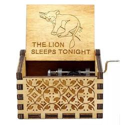 Caixinha de Música - Rei Leão