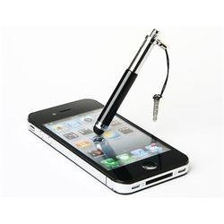 Caneta Stylus para Smartphone e Tablet Compacta com Plug Fone de Ouvido - Preto