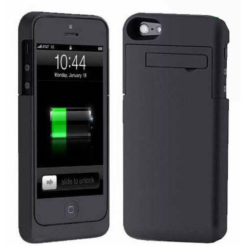Imagem de Capa Carregadora para iPhone 5 5S SE e 5C - Cores Diversas