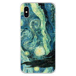 Capa para Celular - Arte   Van Gogh - A Noite Estrelada