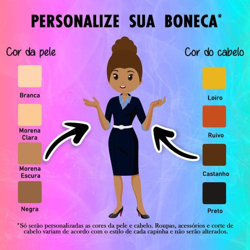 Capa para celular - Assistente Social - mulher