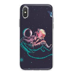 Capa para celular - Astronauta em Órbita