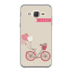 Capa para Celular - Bicicleta   Love