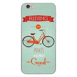 Capa para Celular - Bicicleta | Riding My Bike Makes Me Feel Good