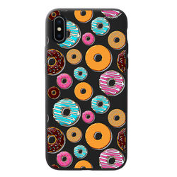 Capa para celular Black Edition - Donuts