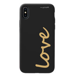 Capa para celular Black Edition - Love Gold