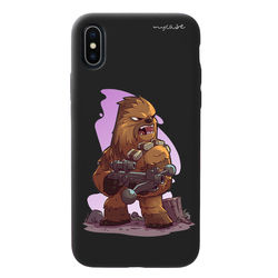 Capa para celular Black Edition - Star Wars | Chewbacca