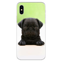Capa para Celular - Black Pug