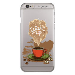 Capa para celular - Café - Wake up