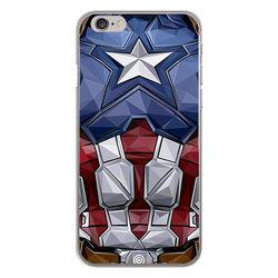 Capa para celular - Capitão América | Armadura