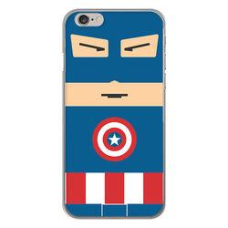 Capa para celular - Capitão América Flat