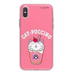 Capa para celular - Cat-Puccino