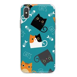 Capa para celular - Cats