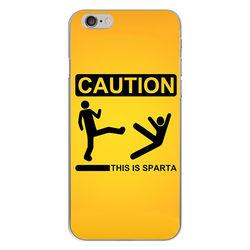 Capa para Celular - Caution This Is Sparta