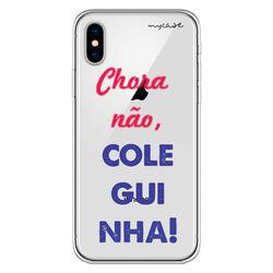 Capa para celular - Chora não, coleguinha
