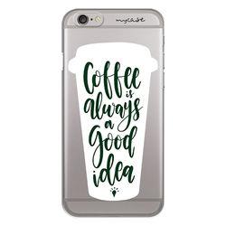 Capa para celular - Coffee is Always a Good Idea