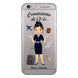 Capa para celular - Comissária de Voo