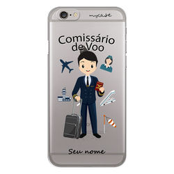 Capa para celular - Comissário de Voo
