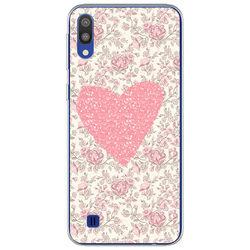 Capa para Celular - Coração Floral