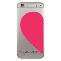 Capa para celular - Coração Metade | Lado A