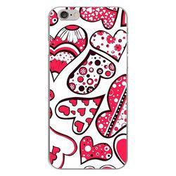 Capa para Celular - Corações Rosas