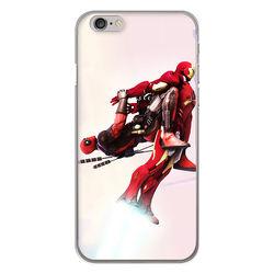 Capa para Celular - Deadpool e Homem de Ferro