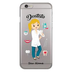 Capa para celular - Dentista - Mulher