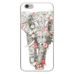 Capa para Celular - Elefante Floral
