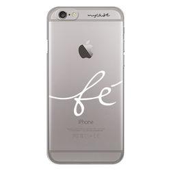 Capa para Celular - Fé para iPhone 7 e 8 | Branco