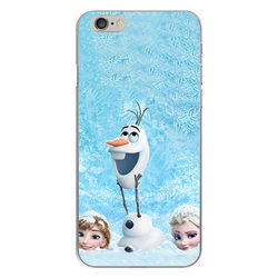 Capa para Celular - Frozen | Na neve