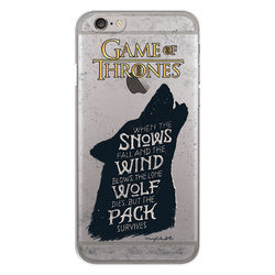 Capa para celular - Game Of Thrones | Wolf Dies