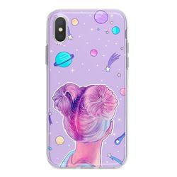 Capa para celular - Garota em Órbita