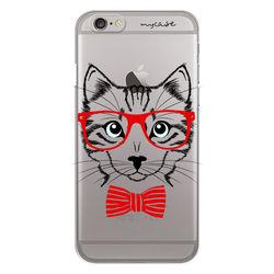 Capa para celular - Gato de gravata