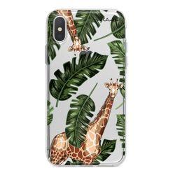 Capa para celular - Girafas