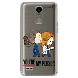 Capa para celular - Grey's Anatomy   You're My Person