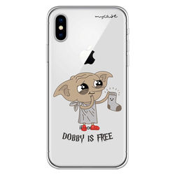 Capa para celular - Harry Potter | Dobby is free