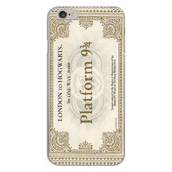 Capa para Celular - Harry Potter | Ticket Plataforma 9 e 3|4