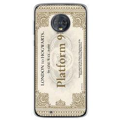 Capa para Celular - Harry Potter | Ticket Plataforma 9 e 3|4