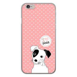 Capa para celular - I Love Dogs