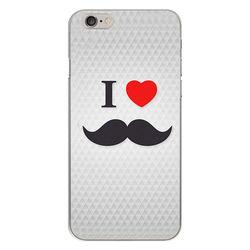 Capa para Celular - I Love Mustache